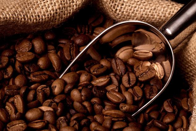 grains de café