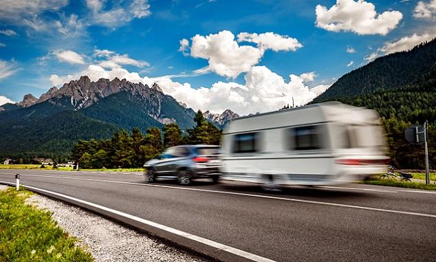 caravane conduite