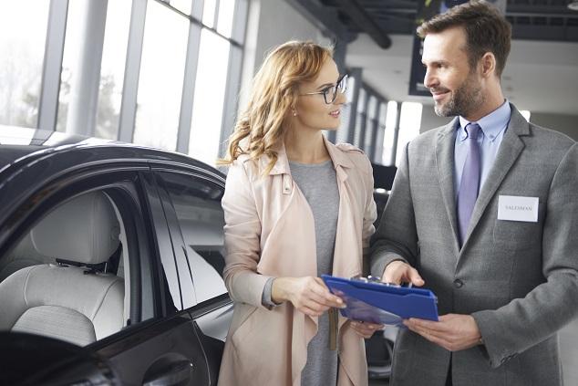 Une vente de voiture