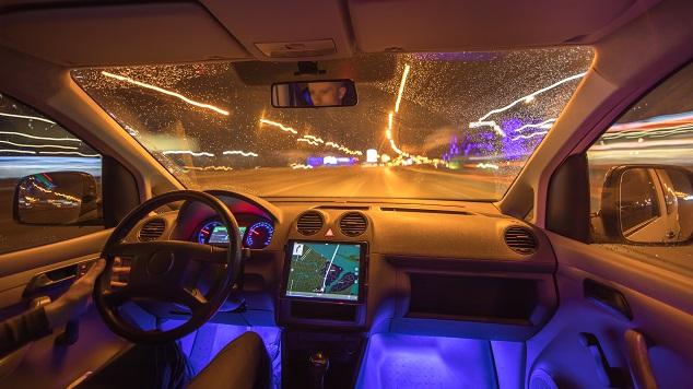 voiture nuit